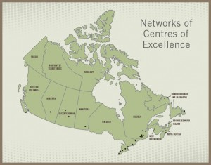 Canadian Network of Centres of Excellence Oncology Investigative Sites