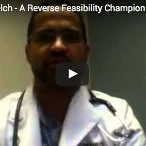 A Word From Dr. Stephen Welch – A Reverse Feasibility Champion